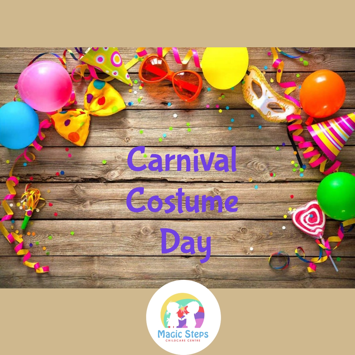 Carnival Costume Day- Friday 12th February