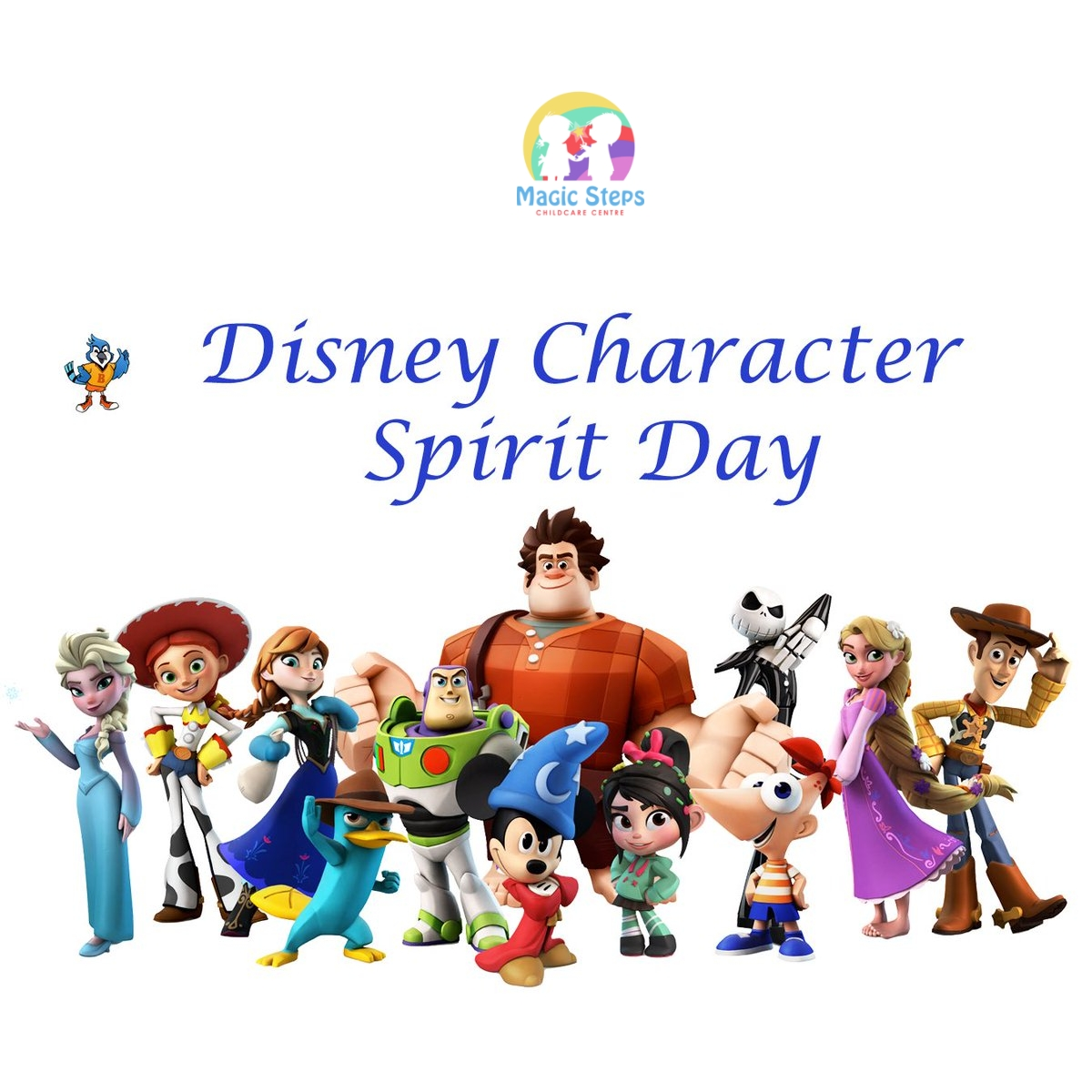 Disney Character Spirit Day in Aid of Puttinu Cares- Tuesday 18th May