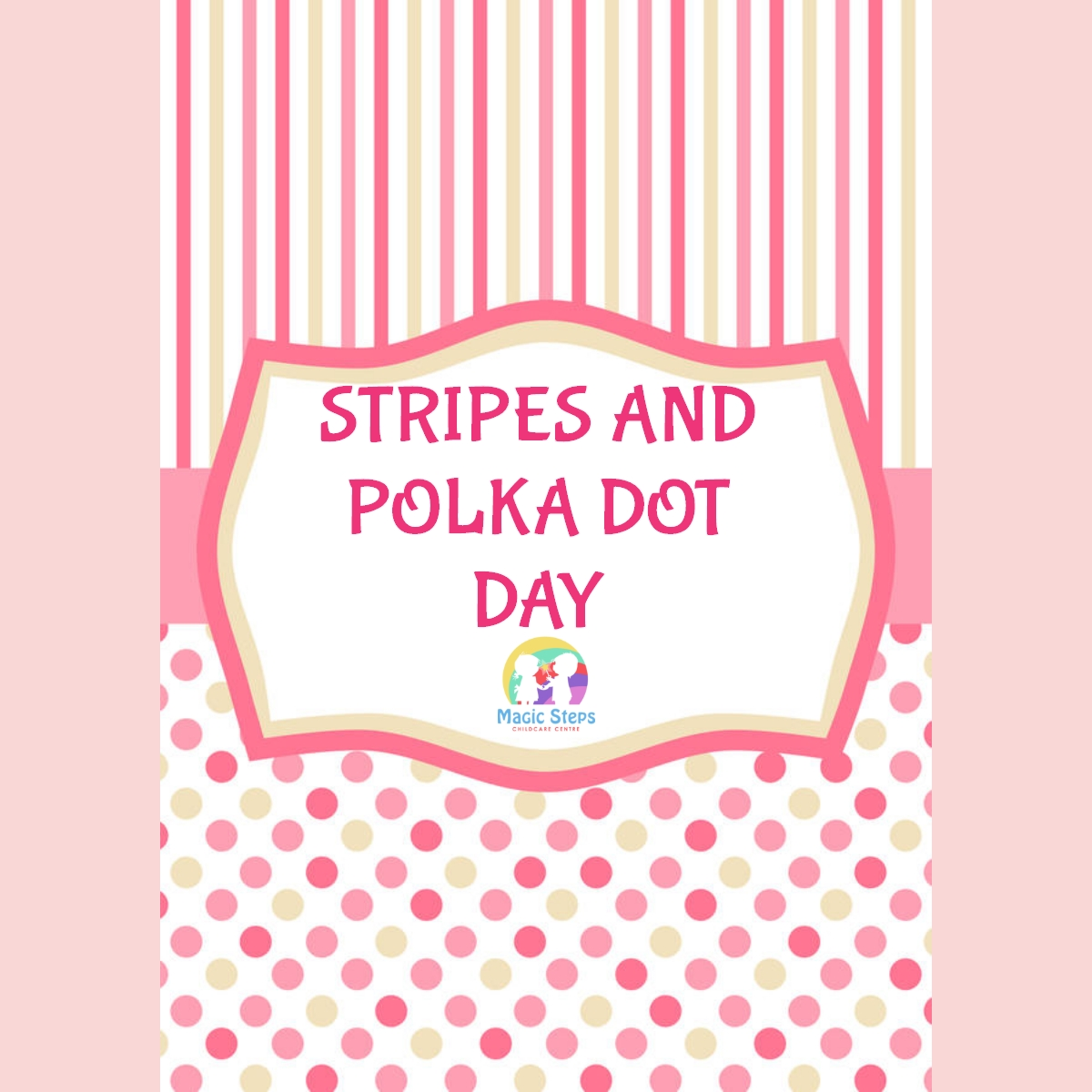 Stripes and Polka Dot Day- Wednesday 12th May